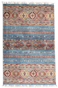 Shabargan Matto 97X150 Moderni Käsinsolmittu Tummanharmaa/Vaaleanharmaa (Villa, Afganistan)