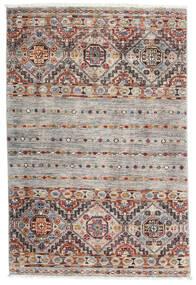 Sharbargan Matto 82X122 Moderni Käsinsolmittu Vaaleanharmaa/Valkoinen/Creme (Villa, Afganistan)