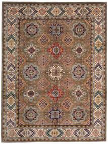 Kazak Matto 270X359 Itämainen Käsinsolmittu Ruskea/Vaaleanruskea Isot (Villa, Afganistan)