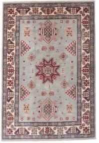 Kazak Matto 121X179 Itämainen Käsinsolmittu Vaaleanharmaa/Tummanruskea (Villa, Afganistan)