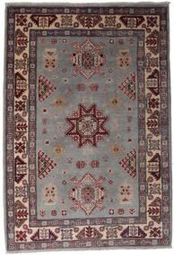 Kazak Matto 120X175 Itämainen Käsinsolmittu Tummanruskea/Musta (Villa, Afganistan)