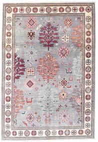 Kazak Matto 120X176 Itämainen Käsinsolmittu Vaaleanvioletti/Vaaleanpunainen (Villa, Afganistan)