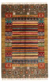 Shabargan Matto 119X186 Moderni Käsinsolmittu Ruskea/Beige (Villa, Afganistan)