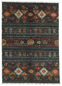 Shabargan Matto 167X236 Moderni Käsinsolmittu Tummanvihreä (Villa, Afganistan)