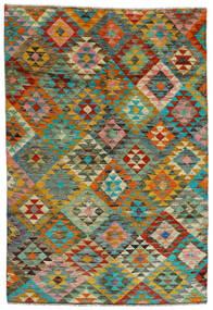 Moroccan Berber - Afghanistan Matto 170X250 Moderni Käsinsolmittu Ruskea/Vaaleanruskea (Villa, Afganistan)