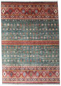 Shabargan Matto 214X306 Moderni Käsinsolmittu (Villa, Afganistan)