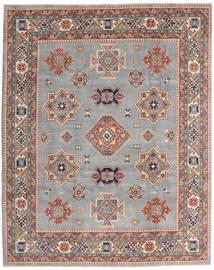 Kazak Matto 243X302 Itämainen Käsinsolmittu Vaaleanharmaa/Tummanruskea (Villa, Afganistan)