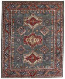 Kazak Matto 243X297 Itämainen Käsinsolmittu Tummanharmaa/Tummanpunainen (Villa, Afganistan)