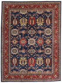Kazak Matto 268X359 Itämainen Käsinsolmittu Tummanvioletti/Tummanpunainen Isot (Villa, Afganistan)
