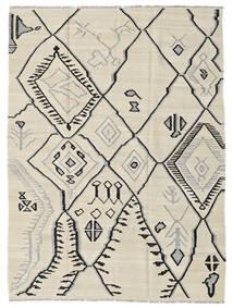 Kelim Moderni Matto 174X230 Moderni Käsinkudottu Tummanbeige/Vaaleanharmaa (Villa, Afganistan)