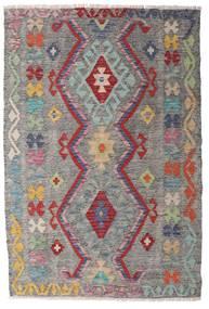 Kelim Afghan Old Style Matto 100X148 Itämainen Käsinkudottu Vaaleanharmaa/Tummanharmaa (Villa, Afganistan)