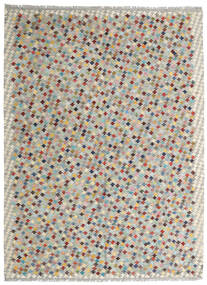 Kelim Afghan Old Style Matto 175X238 Itämainen Käsinkudottu Vaaleanharmaa/Vaaleanruskea (Villa, Afganistan)