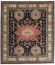 Kazak Matto 254X295 Itämainen Käsinsolmittu Tummanharmaa/Vaaleanruskea Isot (Villa, Afganistan)