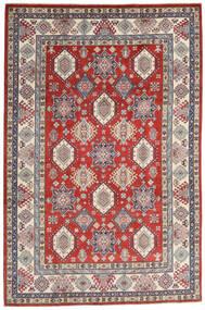 Kazak Matto 198X298 Itämainen Käsinsolmittu Tummanharmaa/Vaaleanharmaa (Villa, Afganistan)