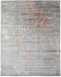 Damask Collection Matto 243X307 Moderni Käsinsolmittu Vaaleanharmaa ( Intia)