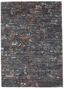 Damask Collection Matto 162X229 Moderni Käsinsolmittu Tummanharmaa/Vaaleanharmaa ( Intia)