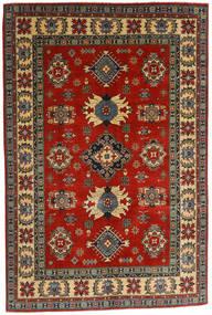 Kazak Matto 182X276 Itämainen Käsinsolmittu Tummanharmaa/Ruoste (Villa, Afganistan)