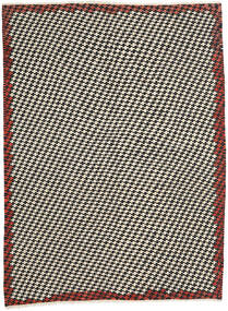 Kelim Moderni Matto 213X287 Moderni Käsinkudottu Beige/Musta (Villa, Afganistan)