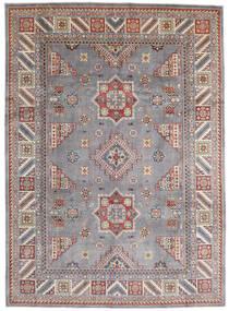 Kazak Matto 250X346 Itämainen Käsinsolmittu Vaaleanharmaa/Tummanharmaa Isot (Villa, Afganistan)