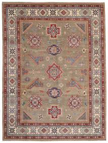 Kazak Matto 268X358 Itämainen Käsinsolmittu Vaaleanharmaa/Vaaleanruskea Isot (Villa, Afganistan)