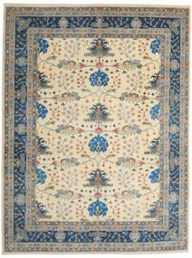 Kazak Matto 275X363 Itämainen Käsinsolmittu Vaaleanharmaa/Beige Isot (Villa, Afganistan)