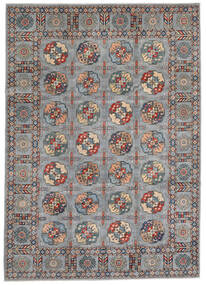Kazak Matto 246X347 Itämainen Käsinsolmittu Tummanruskea (Villa, Afganistan)