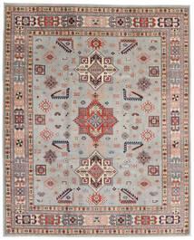 Kazak Matto 244X299 Itämainen Käsinsolmittu Vaaleanharmaa/Vaaleanruskea (Villa, Afganistan)