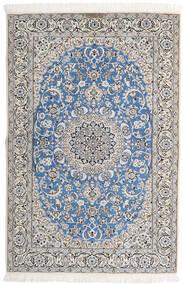 Nain 9La Matto 143X213 Itämainen Käsinsolmittu Vaaleanharmaa/Beige (Villa/Silkki, Persia/Iran)