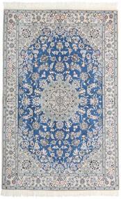 Nain 9La Matto 128X200 Itämainen Käsinsolmittu Vaaleanharmaa/Valkoinen/Creme (Villa/Silkki, Persia/Iran)