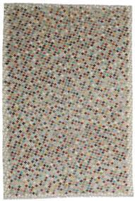 Kelim Afghan Old Style Matto 198X290 Itämainen Käsinkudottu Vaaleanharmaa/Tummanruskea (Villa, Afganistan)