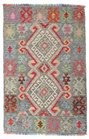 Kelim Afghan Old Style Matto 98X152 Itämainen Käsinkudottu Vaaleanharmaa/Tummanharmaa (Villa, Afganistan)