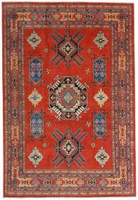 Kazak Matto 207X305 Itämainen Käsinsolmittu Ruoste/Tummanpunainen (Villa, Afganistan)