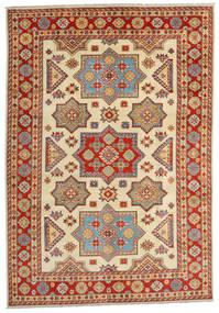 Kazak Matto 201X288 Itämainen Käsinsolmittu Vaaleanruskea/Ruoste (Villa, Afganistan)