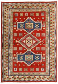 Kazak Matto 203X289 Itämainen Käsinsolmittu Ruoste/Tummanharmaa (Villa, Afganistan)