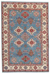 Kazak Matto 183X269 Itämainen Käsinsolmittu Tummanruskea/Sininen (Villa, Afganistan)