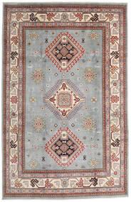 Kazak Matto 195X304 Itämainen Käsinsolmittu Vaaleanharmaa/Vaaleanruskea (Villa, Afganistan)