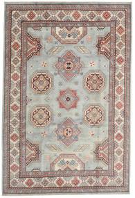 Kazak Matto 202X301 Itämainen Käsinsolmittu Vaaleanharmaa/Tummanruskea (Villa, Afganistan)
