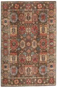 Kazak Matto 197X299 Itämainen Käsinsolmittu Vaaleanruskea/Tummanruskea (Villa, Afganistan)