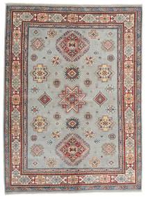 Kazak Matto 167X225 Itämainen Käsinsolmittu Vaaleanharmaa/Ruskea (Villa, Afganistan)