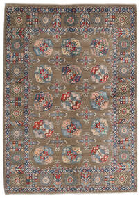 Kazak Matto 165X231 Itämainen Käsinsolmittu Vaaleanharmaa/Vaaleanruskea (Villa, Afganistan)