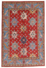 Kazak Matto 158X237 Itämainen Käsinsolmittu Tummanpunainen/Ruoste (Villa, Afganistan)