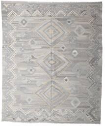 Kelim Moderni Matto 252X295 Moderni Käsinkudottu Vaaleanharmaa Isot (Villa, Afganistan)