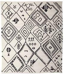 Kelim Ariana Matto 254X293 Moderni Käsinkudottu Vaaleanharmaa/Musta Isot (Villa, Afganistan)
