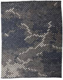 Kelim Moderni Matto 233X288 Moderni Käsinkudottu Tummanharmaa (Villa, Afganistan)