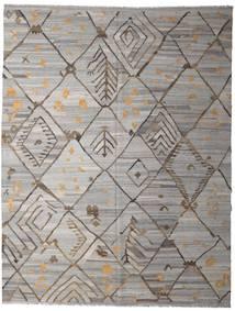 Kelim Ariana Matto 258X332 Moderni Käsinkudottu Vaaleanharmaa/Tummanharmaa Isot (Villa, Afganistan)