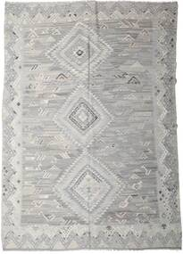 Kelim Ariana Matto 256X357 Moderni Käsinkudottu Vaaleanharmaa Isot (Villa, Afganistan)