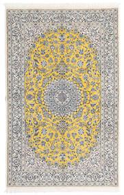 Nain 9La Matto 158X248 Itämainen Käsinsolmittu Vaaleanharmaa/Valkoinen/Creme (Villa/Silkki, Persia/Iran)