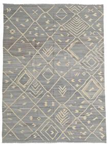 Kelim Ariana Matto 252X335 Moderni Käsinkudottu Vaaleanharmaa/Tummanharmaa Isot (Villa, Afganistan)