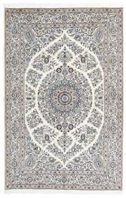 Nain 9La Matto 165X247 Itämainen Käsinsolmittu Vaaleanharmaa/Beige (Villa/Silkki, Persia/Iran)