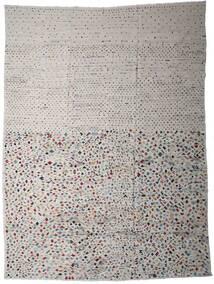 Kelim Moderni Matto 290X389 Moderni Käsinkudottu Vaaleanharmaa/Tummanharmaa Isot (Villa, Afganistan)
